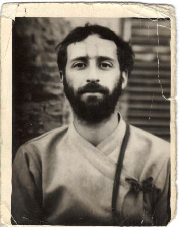 Shyamdas as a young bhakta