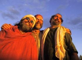 With Mohan Dada and Kabir Das