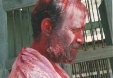 A vivid profile Holi shot