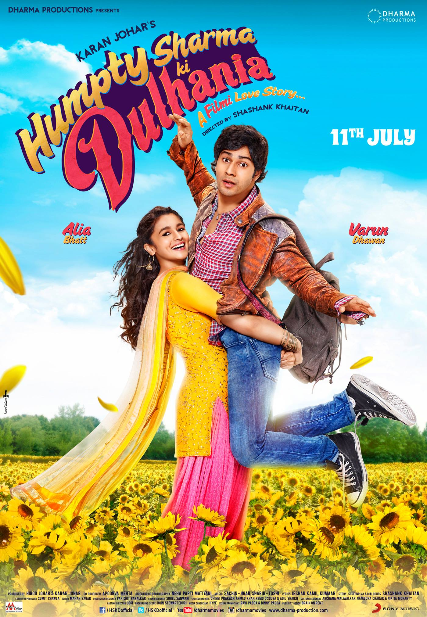 Poster do filme Humpty Sharma Ki Dulhania