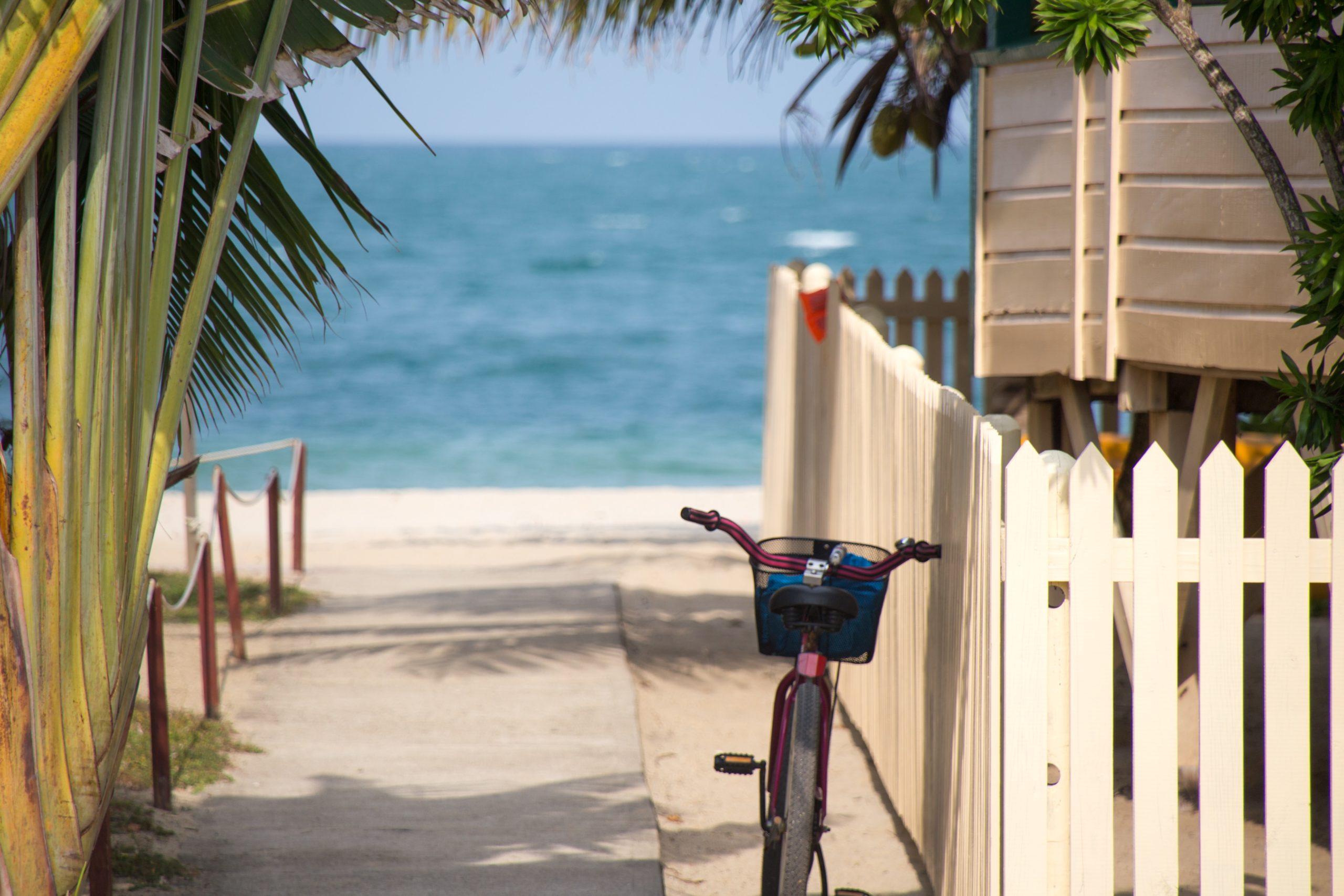 vélo-plage-soleil-éco-responsable