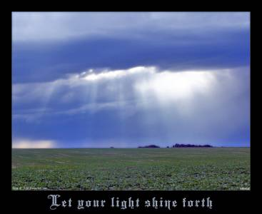 Let Your Light Shine Forth By Book Of Light
