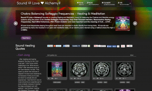 First Sound Love Alchemy Website 2011
