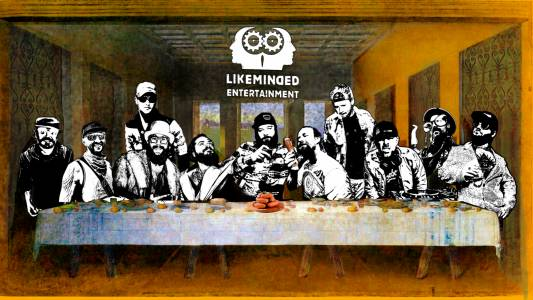 Likeminded-collage-last Supper3-less-sausages