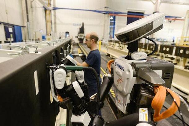 Le NEXTAGE envahit les usines de production d'Airbus.