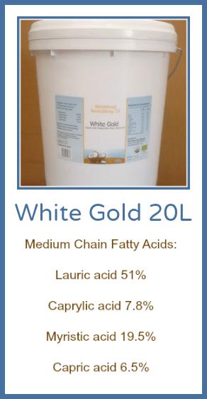 White Gold 20L Placard