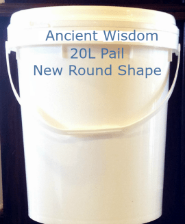 Ancient Wisdom 20L Raw Extra Virgin Coconut Oil