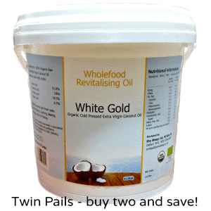 Oil 4L Twin Pails White Gold Extra Virgin Coconut Oil
