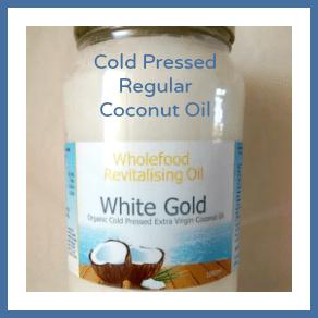 1L Glass Jar White Gold