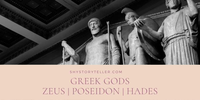 Greek Mythology Greek Gods - Zeus Poseidon Hades