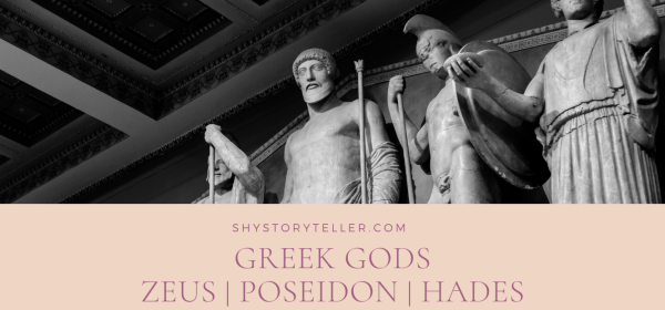 Greek Mythology Greek Gods - Zeus Poseidon Hades