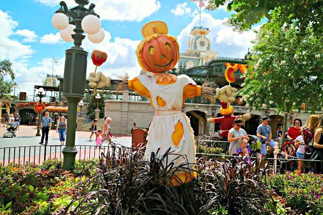 Halloween decorations at Walt Disney World