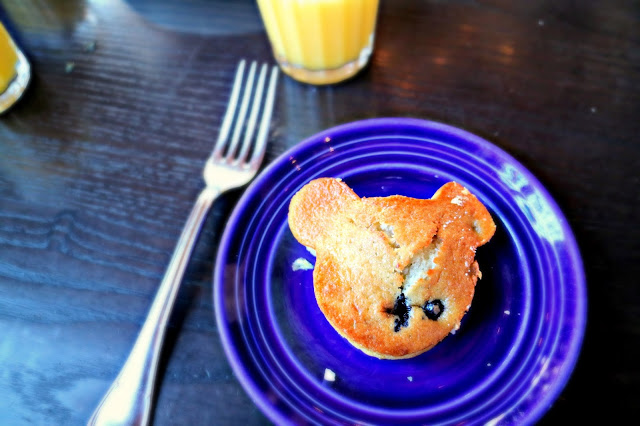 A Mickey Mouse muffin is a classic Theme Park Snacks