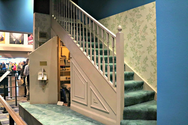 Harry Potter's cupboard under the stairs set