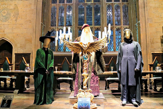 costumes in the great hall