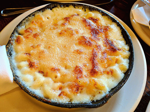 mac and cheese as park of Thanksgiving Dinner in New York