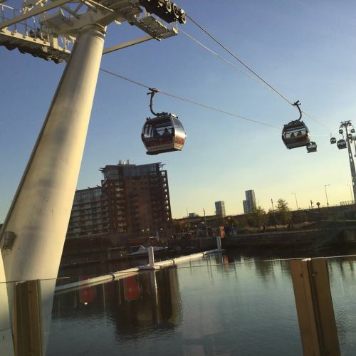 Emirates Air Line Cablecar an unusual London Observation Points
