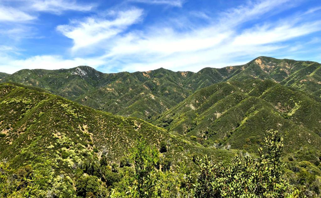 mountains near the big sur