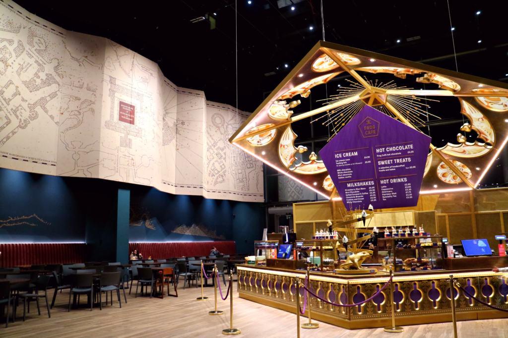 Chocolate Frog Cafe in the Warner Bros. Studio