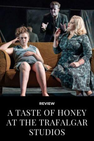 a taste of honey pinterest pin
