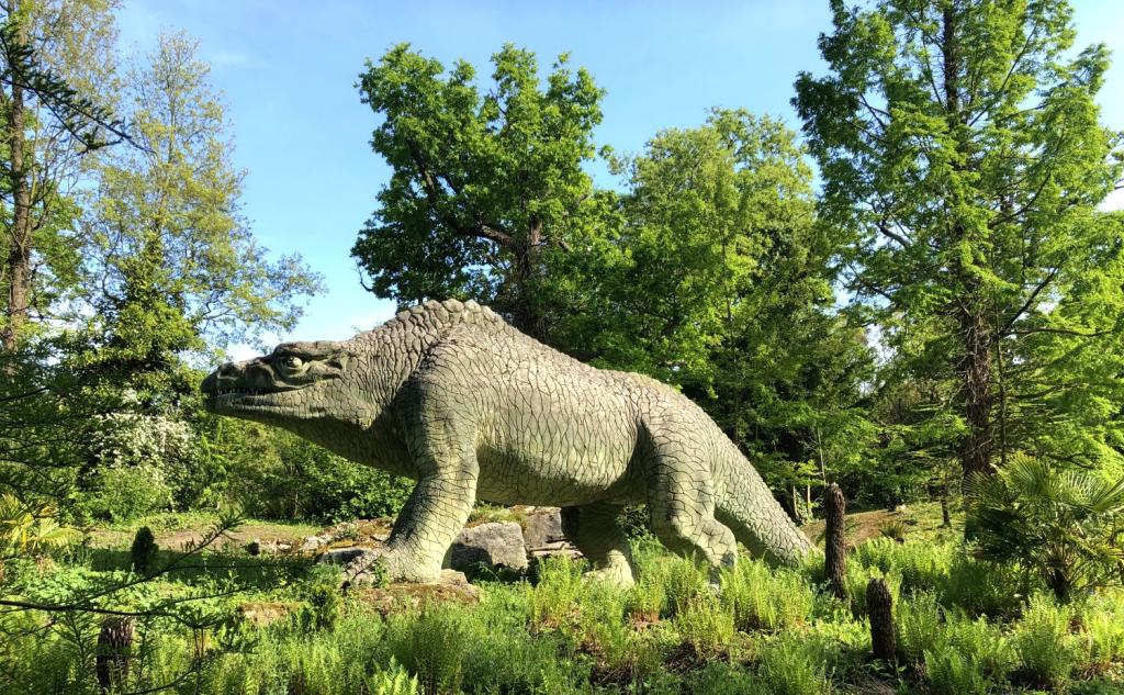 one of the dinosaurs of crystal palace