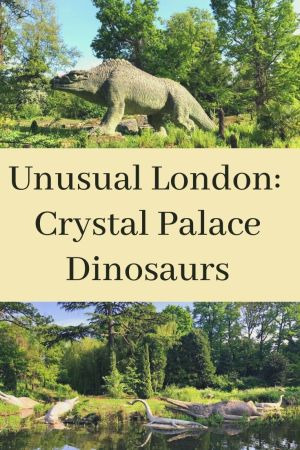 Crystal Palace Dinosaurs pinterest pin