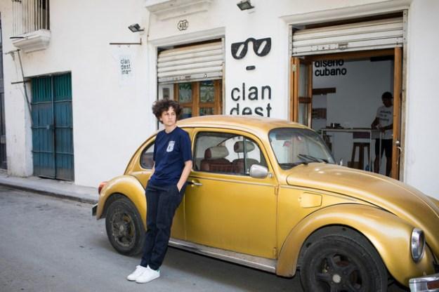 'Change in Cuba is very slow and millimetric,' said Idania Del Rio, who runs a designer shop in Havana.