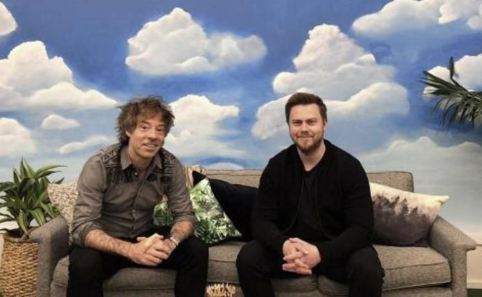 Michael Acton Smith and Alex Tew, co-founders of Calm.