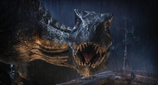 The Indoraptor prepares to strike in 'Fallen Kingdom.'