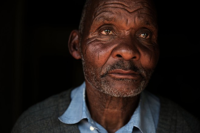 """My wish is to remain here and be able to farm,"" said Thanda Mwelase, a relative of Mr. Mwelase."