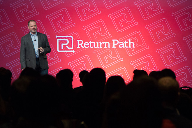 Matt Blumberg, chief executive of Return Path, which collects data for marketers, says users of its email apps are given clear notice that their email will be monitored.