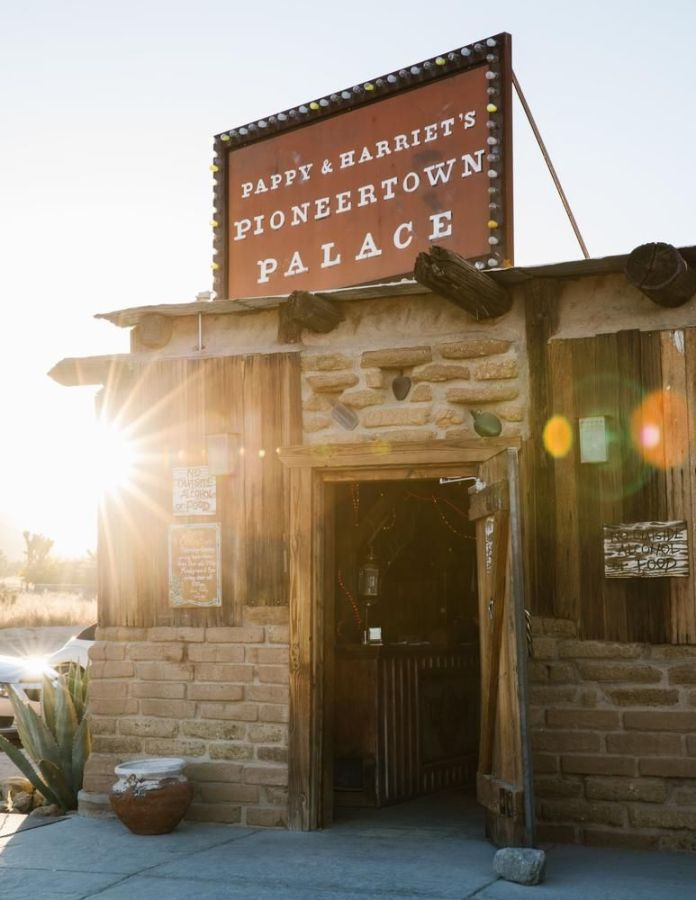 Pappy & Harriet's in Pioneertown, one of the suggested pit stops in All Roads North's California itinerary.
