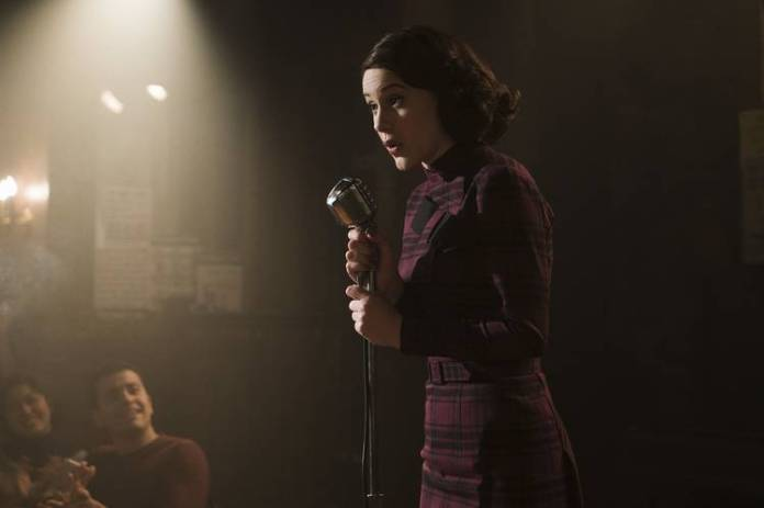 Rachel Brosnahan received a best actress nomination for her performance in Amazon's 'The Marvelous Mrs. Maisel.'