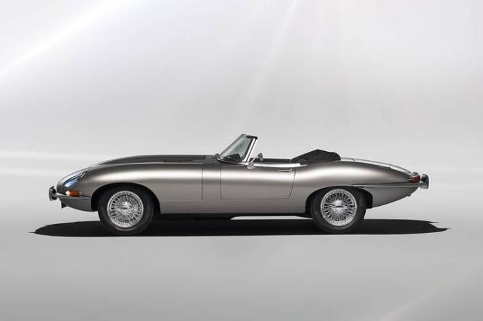 The E-Type Zero conversion retains the car's double-wishbone front suspension, tubular front subframe, hydraulic brakes (including the rear inboard-mounted brakes) and unassisted rack-and-pinion steering.
