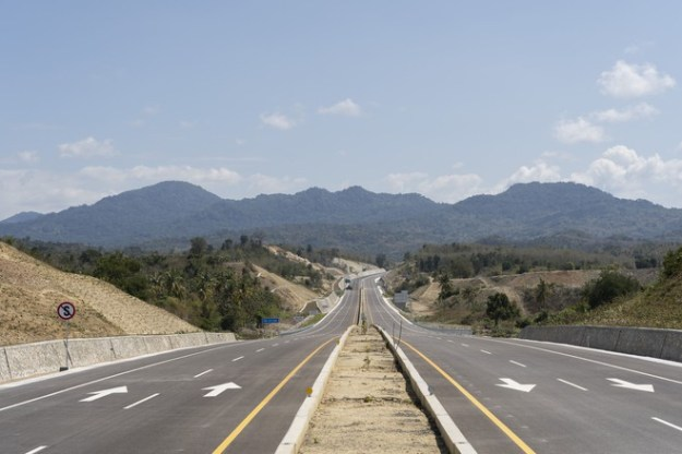 A new highway is being built as part of the refinery project, but local farmers see the road as a luxury for rich people.
