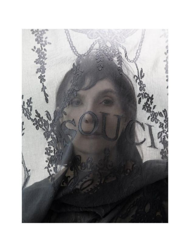 Portrait of Sophie Calle.