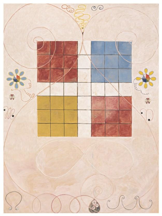 Hilma af Klint's 'Group IV, The Ten Largest, No. 10, Old Age' (1907)