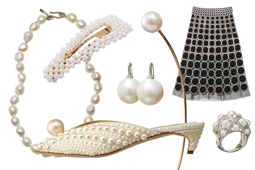 How Classic Pearls Became Improbably Hip