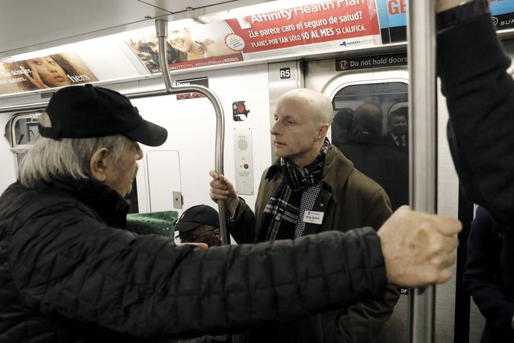 Andy Byford said of Gov. Andrew Cuomo's unexpected decision to scrap an L train tunnel shutdown planned for April: 'It has added a huge complexity. But I am determined not to throw us off course.'