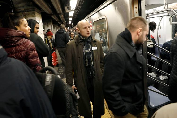 Under Andy Byford's watch, MTA data show that subway service has improved, and he has drawn praise for a customer-focused approach.