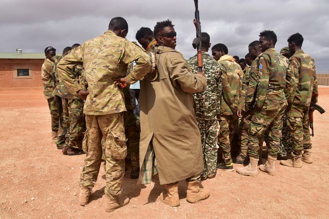 Somali commandos trained by U.S. special-forces operatives form the heart of a new strategy to take on al-Shabaab.