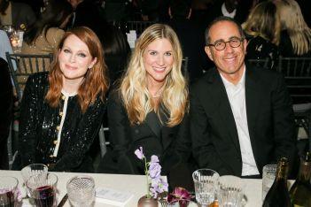 Julianne Moore, Kristina O'Neill, Jerry Seinfeld