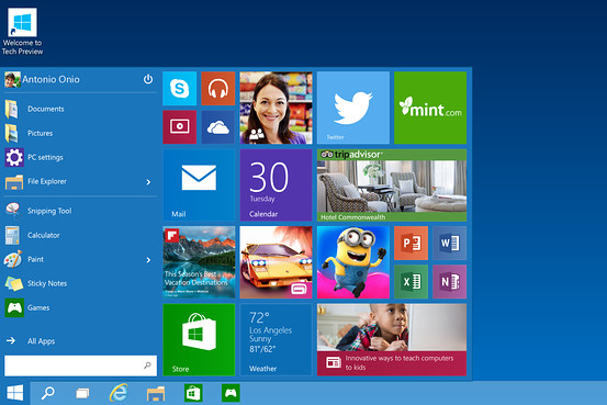 Windows 10 (First Peek)