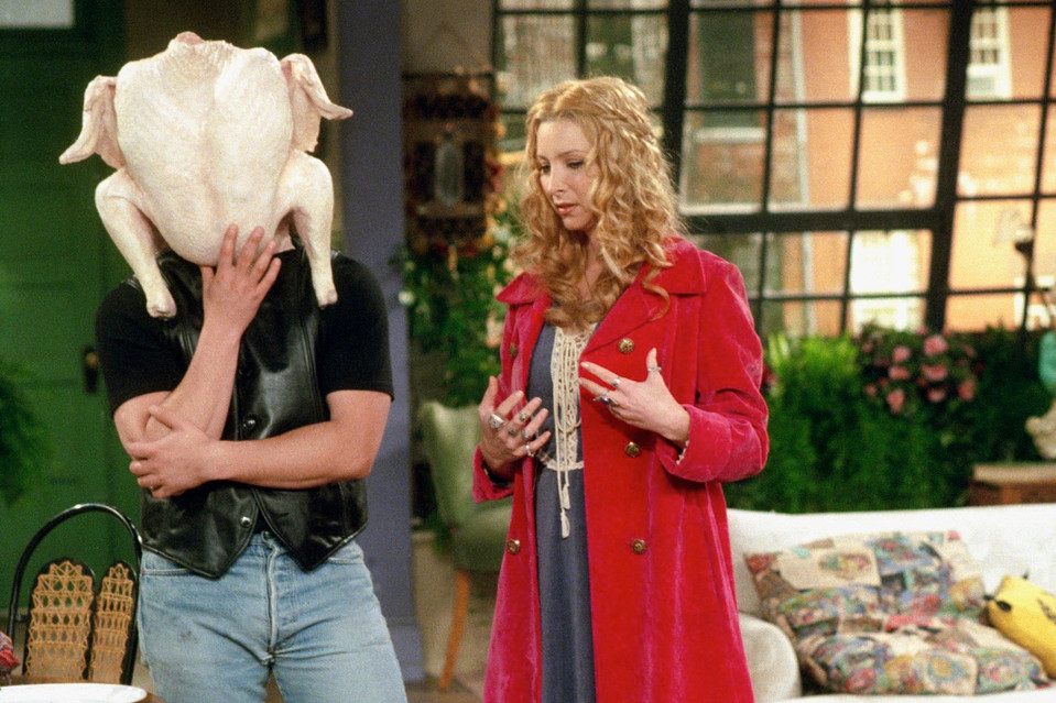 It was in the NBC sitcom 'Friends' that the turkey achieved legendary greatness. No one who watched Joey get his head stuck inside a Thanksgiving turkey would ever think of the bird in the same way again.
