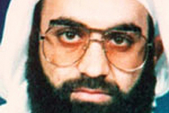 Khalid Sheikh Muhammed, shown in an undated photo from the FBI.