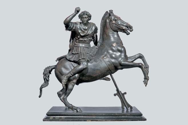 'Alexander the Great,' first century B.C., Naples, Museo Archeologico Nazionale. | This piece impressed ancient authors with its unprecedented realism.