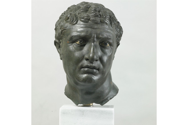 'Portrait of a Man,' second-first century B.C., Athens, National Archaeological Museum. | Informally called the Worried Man from Delos, this piece is known for its emotional intensity and individuality.