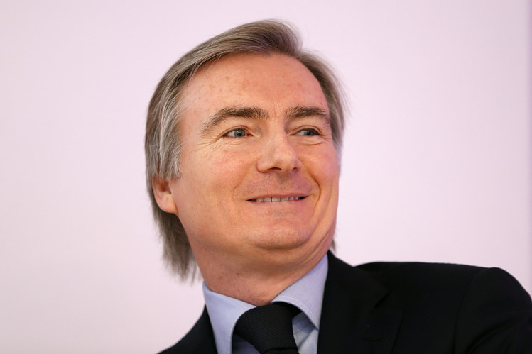 Jean-Yves Charlier on Friday was named chief executive of Russian mobile operator VimpelCom. REUTERS/Charles Platiau