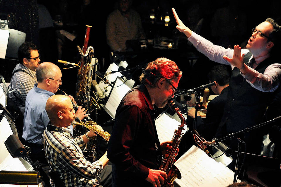 The Gil Evans Project performing at Jazz Standard last week.