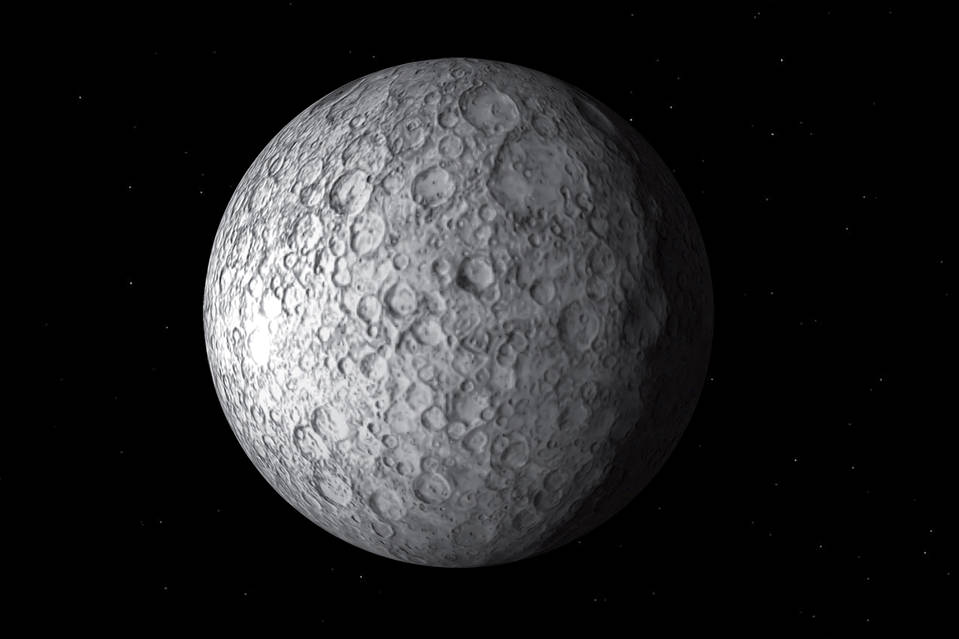 Ceres, discovered by Giuseppe Piazzi.